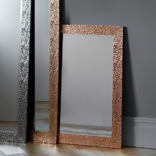 Fantom Wall Mirror Rectangular In Gold