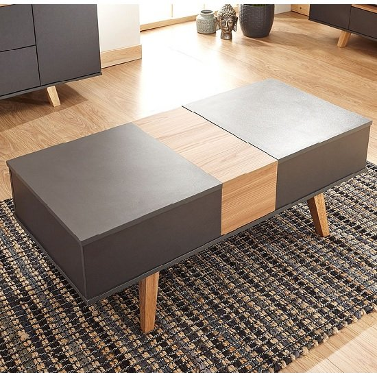 Farrow Coffee Table In Grey And Oak Effect With Lift Up Top_1