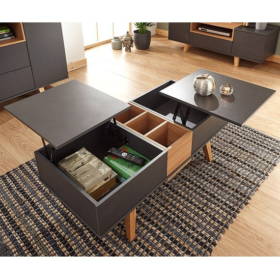 Farrow Coffee Table In Grey And Oak Effect With Lift Up Top_2