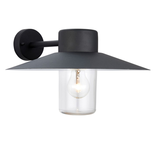 Fenwick Wall Light In Black