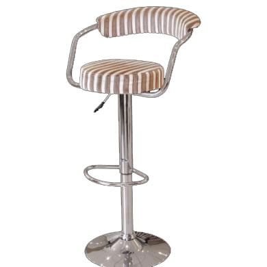 fgu362 striped bar stool - Modern Bar Stools – Counter Height And Adjustable: Material Types