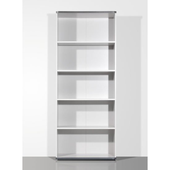 Profi 4 Shelves Light Grey Filing Cabinet