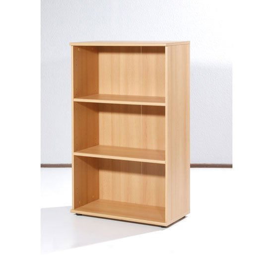 Power Range Beech Finish Filing Cabinet with 2 Shelves