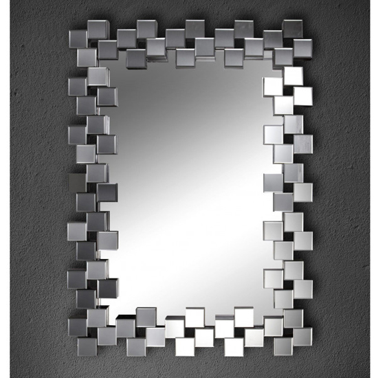 Fiyako Designer Rectangular Wall Mirror