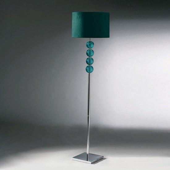 Mistro Teal Floor Lamp, 2501171