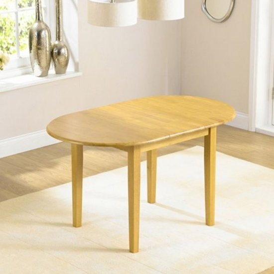 Fornax Solid Hardwood Dining Table In Oak