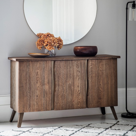Foundry Wooden Sideboard In Oak