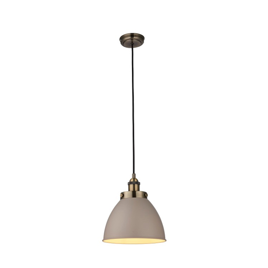 Franklin Small Pendant Light In Brass