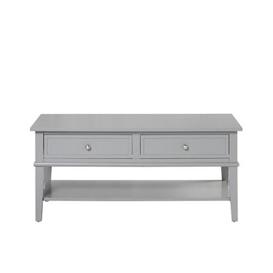 Franklin Wooden Coffee Table In Grey_3
