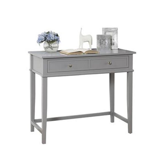 Franklin Wooden Laptop And Writing Desk In Grey_2