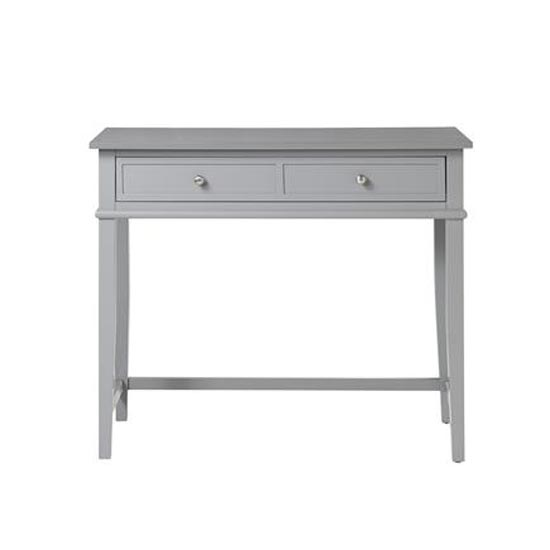 Franklin Wooden Laptop And Writing Desk In Grey_3