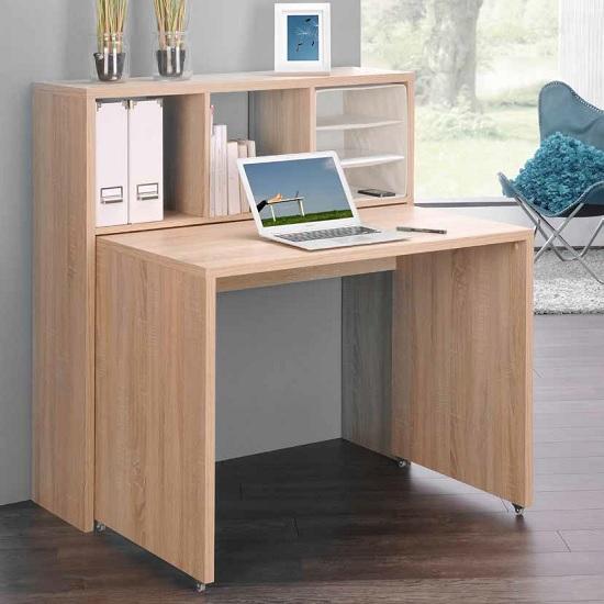 Read more about Fraser contemporary computer desk in sonoma oak