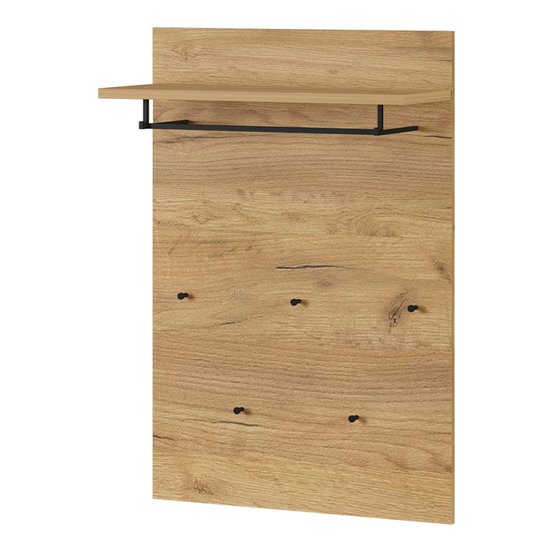 Fremont Coat Rack Panel In Navarra Oak