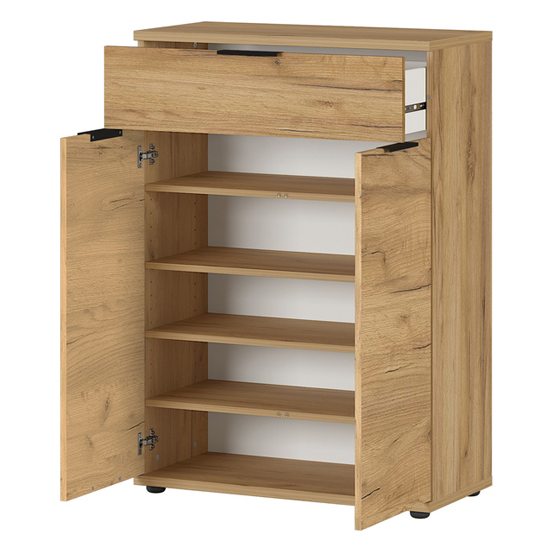 Fremont Shoe Storage Cabinet In Navarra Oak_2