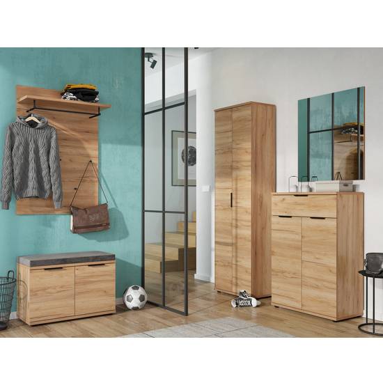 Fremont Shoe Storage Cabinet In Navarra Oak_3