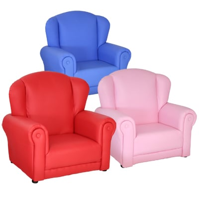 Childrens Mini Arm Chair In Pink
