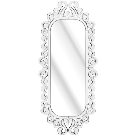 Solitaire full length wall mirror sol 0007 4105 furniture - Full length decorative wall mirrors ...