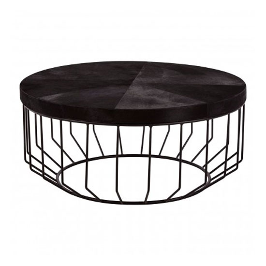 Furud Townhouse Round Coffee Table In Black_1