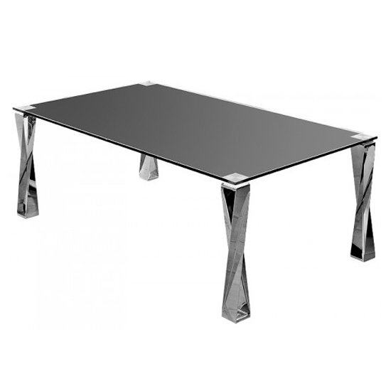 Black Glass And Chrome Coffee Table Shop For Cheap Tables And Save Online