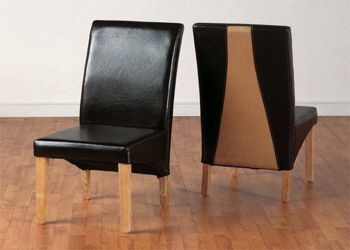 G2 Bycast Leather Dining Chair (Sec)