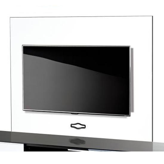 White TV Background Plate
