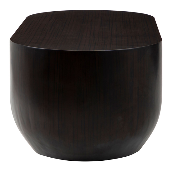 Gablet Oblong Wooden Coffee Table In Dark Brown_4