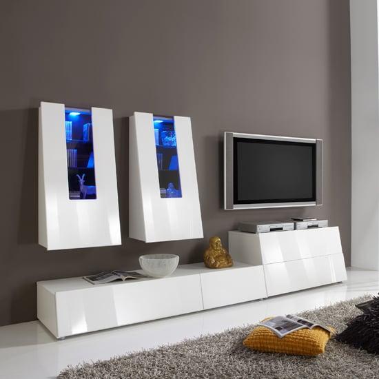 gala 5 entertainment set - L-shaped Living Room Makeover Ideas