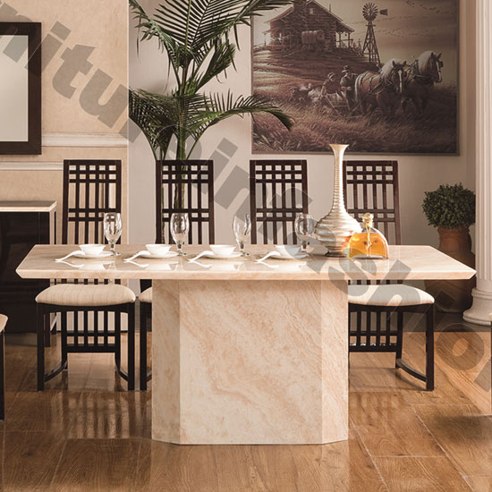 genoa dining table - Great Hints to Buy a Dining Table with Faux Marble Dining Table