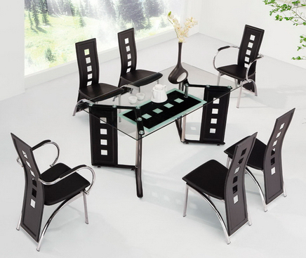 Gio Glass Dining Set