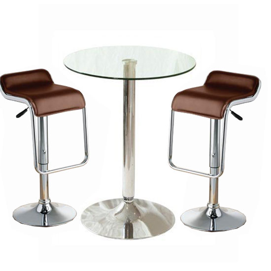 glass bar table fw37po 2brwn torino - Hotel Furniture and Amenities For Encouraging Better Guest Experience