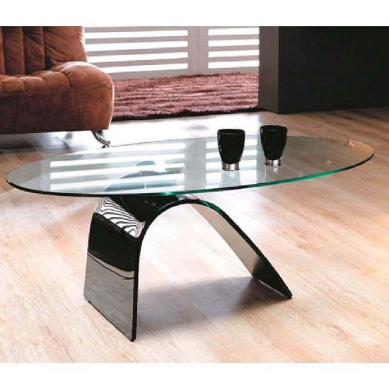 How To Express Style Sense With Bent Glass Coffee Table