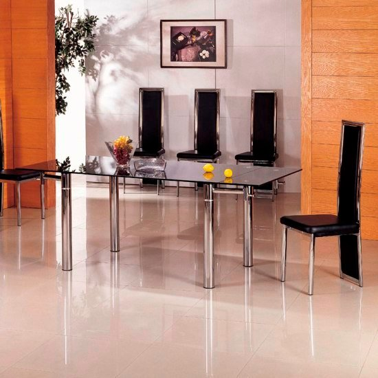 glass dining sets javaG601clr - Searching For The Best Designer Furniture For The Home
