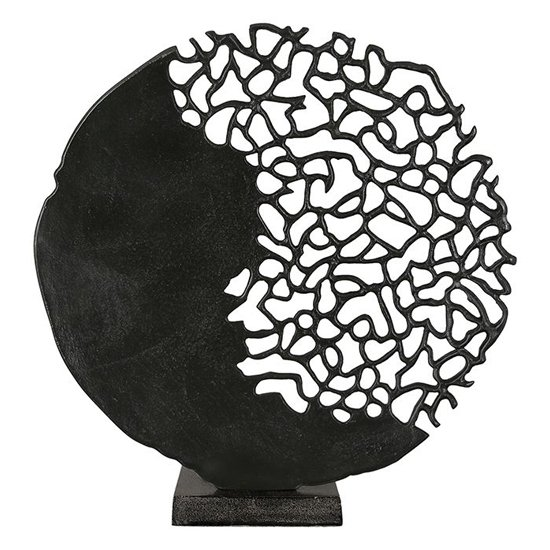 View Glory aluminium sculpture in antique black