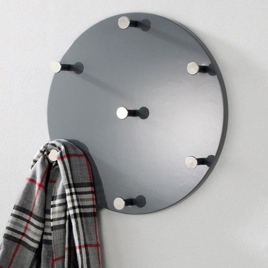 Big Mary Grey Coat Hat Rack In High Gloss