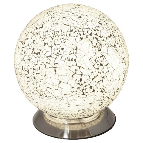 Read more about Mosaic white sphere lamp
