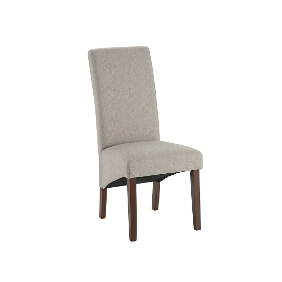 York Tub Chair Linci Natural Dark Legs