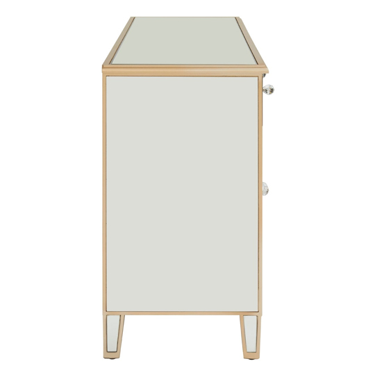 Dziban MDF Sideboard With With Mirrored Glass     _6