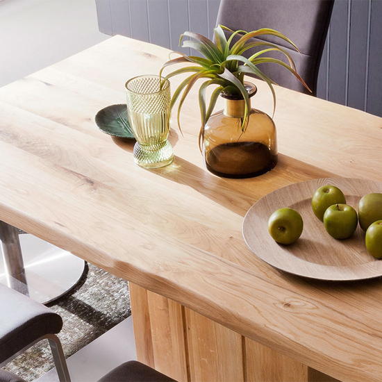 Greta Extra Large Life Edge Dining Table In Solid Oak_2