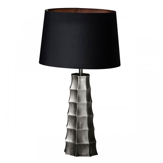Hadlock Table Lamp In Antique Nickel