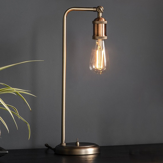 Hal Table Lamp In Copper Finish_2