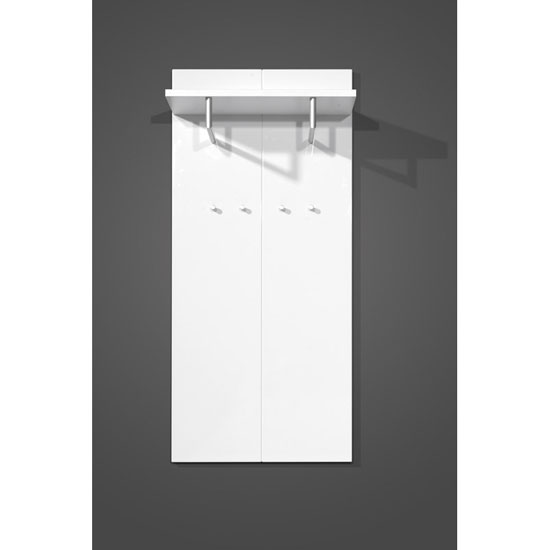 Event White Wall Mounted Hallway Stand