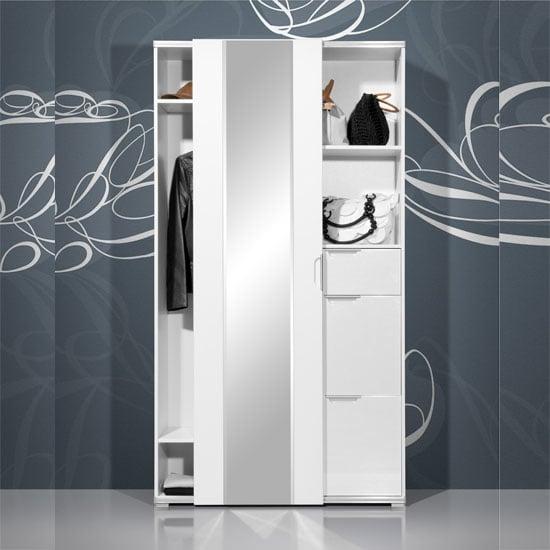 hallway stand choe storage 1169 84 - Where To Install White Sliding Door Wardrobes: 3 Helpful Ideas