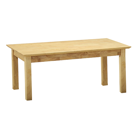 Hamilton Wooden Coffee Table In Natural