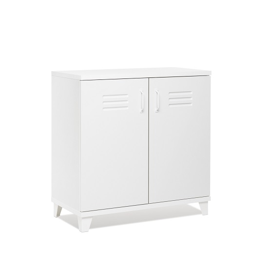 Hampstead Contemporary Wooden Storage Cabinet In White