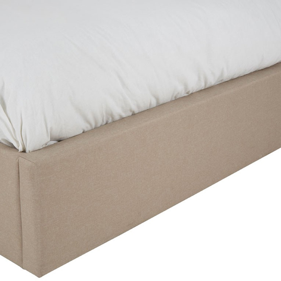 Hannah Wooden King Size Ottoman Bed In Beige_4