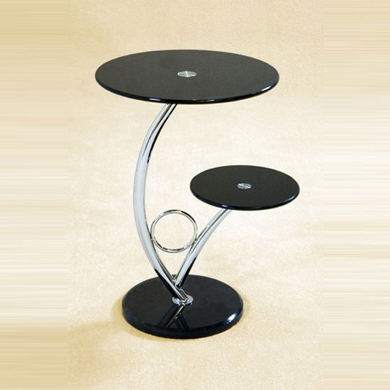 Black Side Table Amazing Design Modern