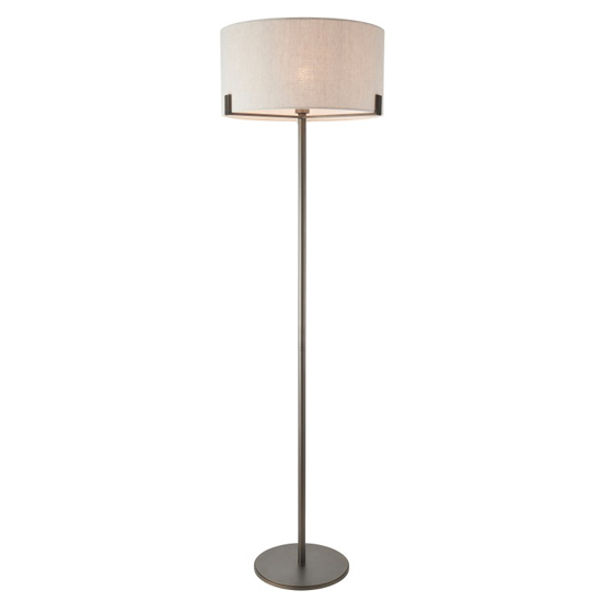 Hayfield Floor Lamp In Brass