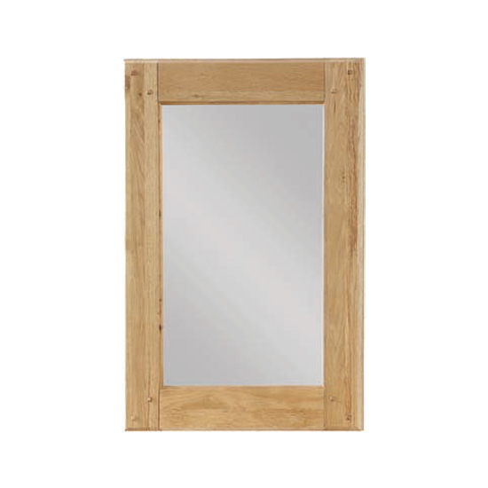 Heaton Bedroom Mirror With Oak Frame