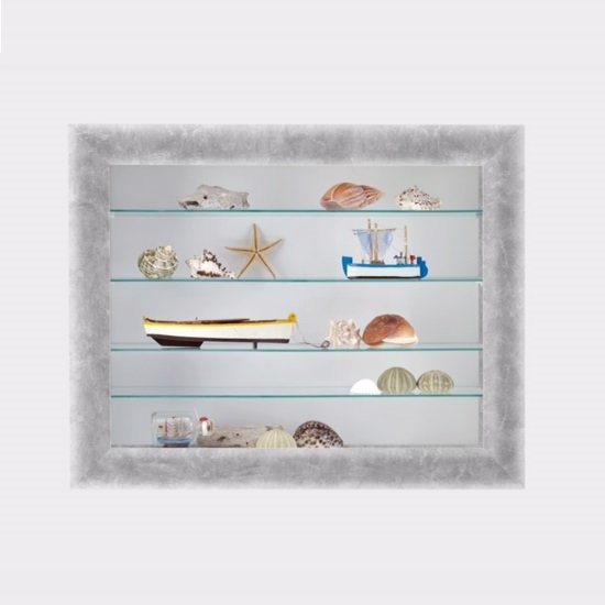 Heaven Wall Mounted Glass Display Cabinet In Light Atelier_2