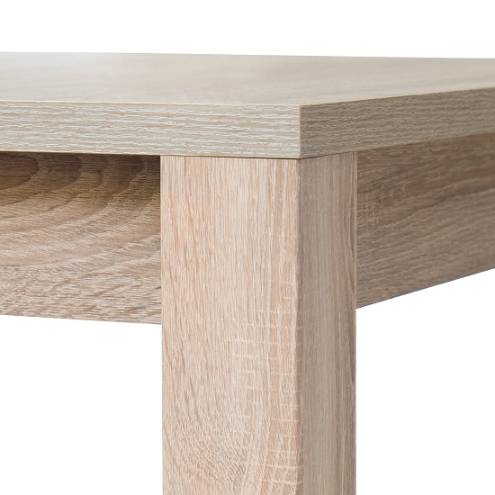 Helena Wooden Extendable Dining Table In Sonoma Oak_6